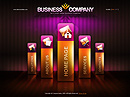 Business co. Flash template