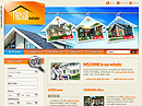 Real estate free website template ID: 400000019