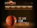 Basketball Flash Site Template
