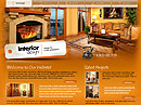 Interior design Flash Site Template