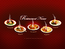 Restaurant Flash template