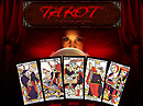 Tarot Flash template