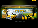 Yellow taxi Easy flash template