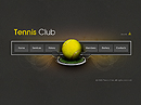 Tennis Club Easy flash templates