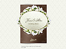 Item number: 300110150 Name: Wedding video album Type: Easy flash template