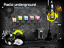 Radio underground Easy flash template