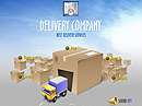 Delivery co. Easy flash template
