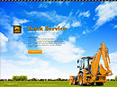 Track service Easy flash template