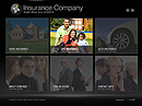 Insurance co. Easy flash template