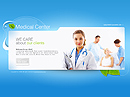 Medical center Easy flash templates