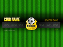 Soccer club Easy flash template