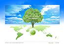Green Planet - Easy flash templates, Environment flash site design