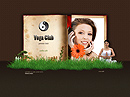 Yoga club Easy flash templates