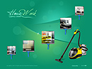HouseWork Easy flash template