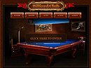 Billiard Club - Easy flash templates, Billiard & Pool website templates