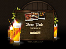 Beer Pub Easy flash template