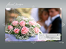 Floral design Easy flash template