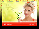 Beauty salon Easy flash templates