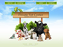 Private vet center Easy flash template