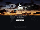 Private airline Easy flash template