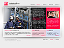Industrial Group Easy flash template