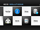 Business Solutions Easy flash template