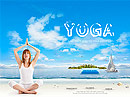 Yoga Club Easy flash template