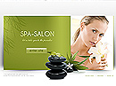 SPA Salon Easy flash template