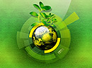 Green Business - Easy flash templates, Environment flash site design