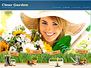 Garden Service - Easy flash templates, Landscape Gardening flash templates