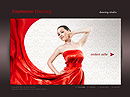 Dancing Studio Easy flash template