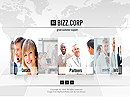 Business Corp. Easy flash templates