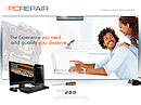 PC Repair - Easy flash templates, PC Repair FLASH website templates