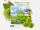 Landscape Design - Easy flash templates, Landscape Gardening flash templates