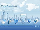 City Business Easy flash templates