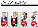Consulting Group Easy flash template