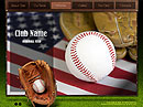 Baseball Club Easy flash templates