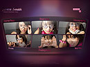 Singer Portfolio Easy flash template