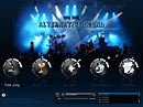 Rock Band - Easy flash templates, Band website templates
