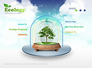 Ecology Protection Easy flash templates