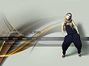 Modern Dance Easy flash templates