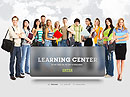 Learning Center Easy flash template