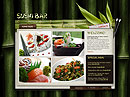 Sushi Bar Easy flash template