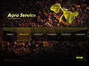 Agro Service Dynamic Flash Template