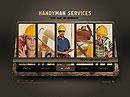 Handyman Service Easy flash templates