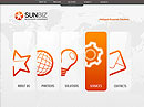 Sun Business Easy flash template