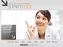 Start Business Dynamic Flash Template