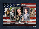 US Military Easy flash template