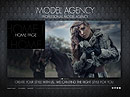 Model Agency Easy flash templates