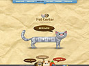 Pet Center Easy flash template